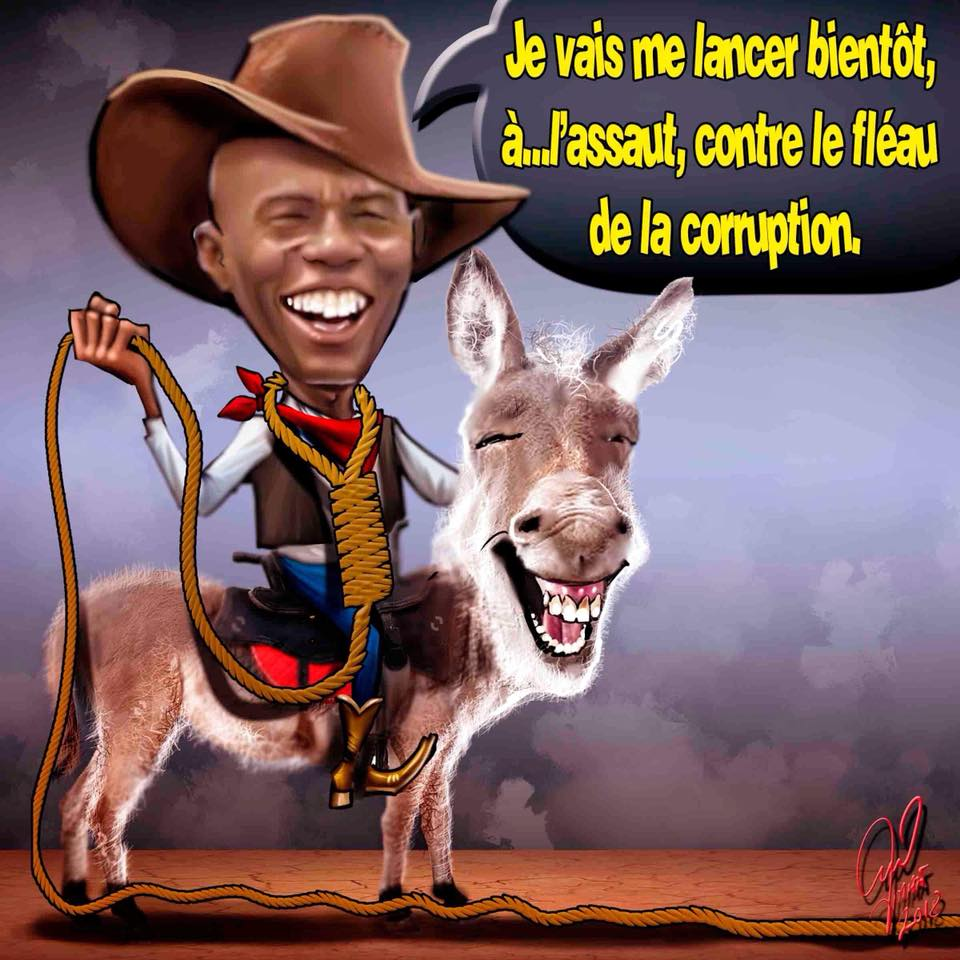 caricature-jovenel-moise-autoflagellation-anticorruption