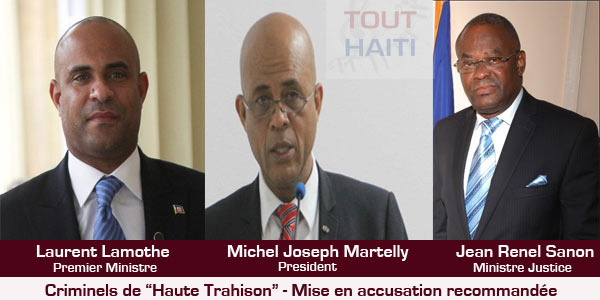 martelly-lamothe-renel-sanon-criminel-haute-trahison