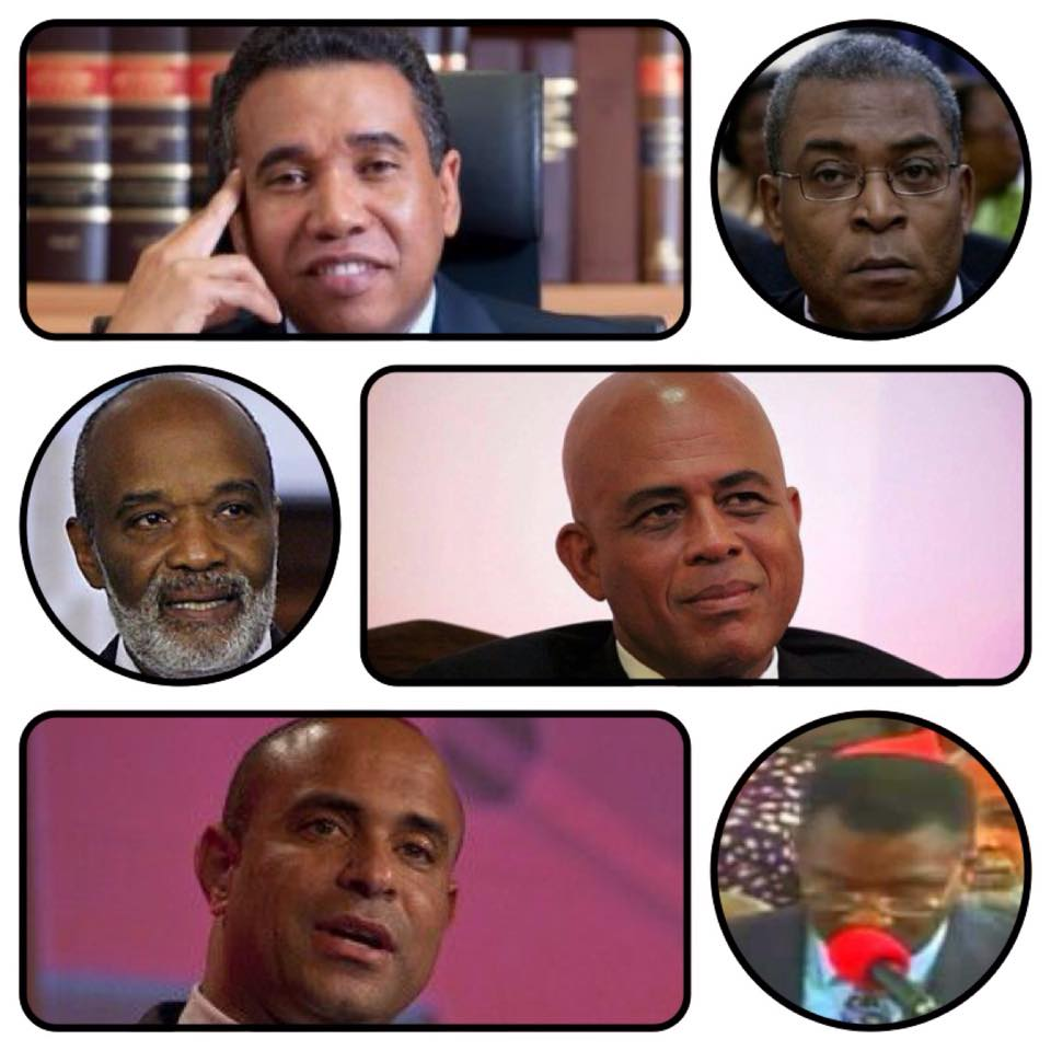 martelly preval lamothe herve day bellerive